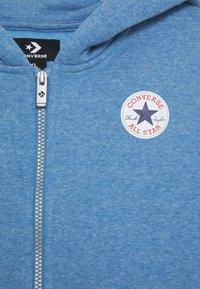 Converse - CHUCK PATCH FULL ZIP HOODIE  - Zip-up hoodie - coast heather - 2