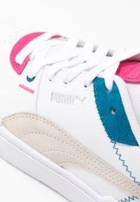 Puma - CALI SPORT MIX - Trainers - white/vaporous gray/digi/blue - 2