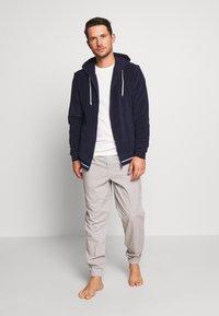 Lacoste - veste en sweat zippée - navy blue - 1