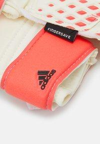 adidas Performance - PREDATOR FOOTBALL KIDS GOALKEEPER GLOVES UNISEX - Goalkeeping gloves - white/pop - 2