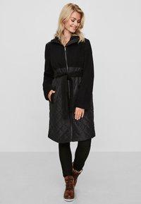 MAMALICIOUS - Classic coat - black - 1