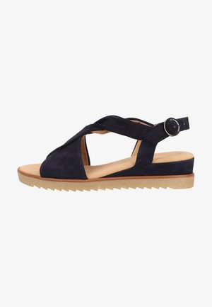Wedge sandals - atlantik obl honi