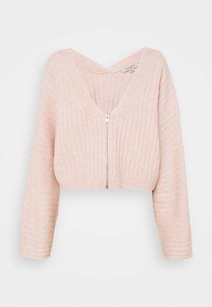 ENYA CARDIGAN - Cardigan - whisper pink