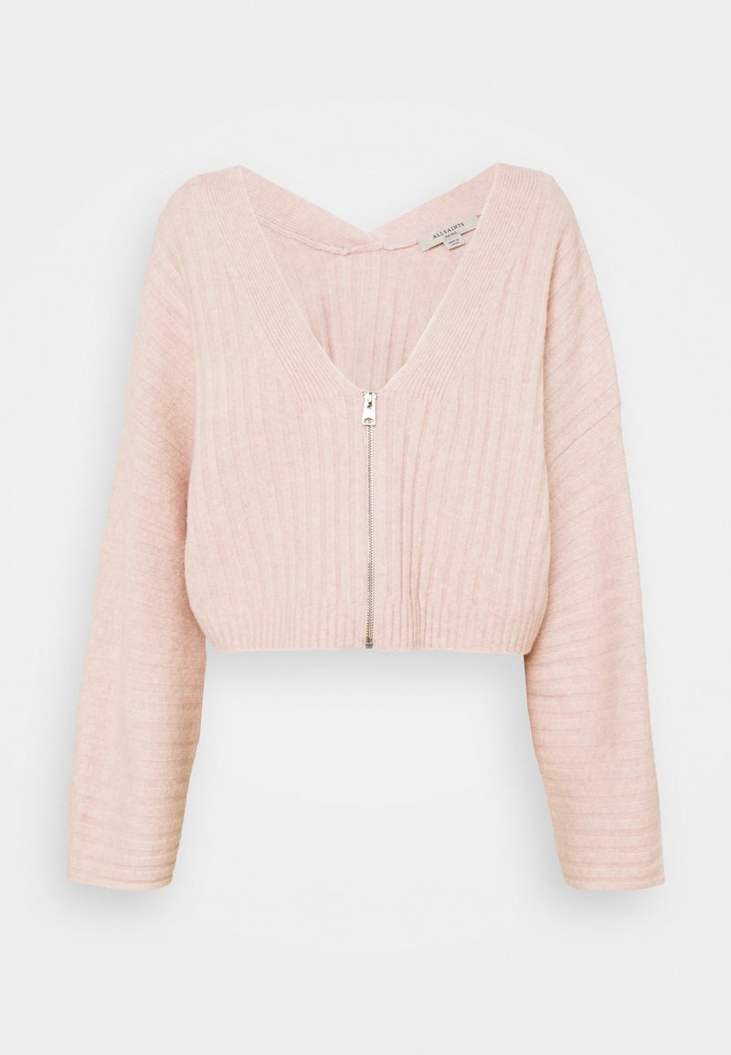 AllSaints - ENYA CARDIGAN - Cardigan - whisper pink