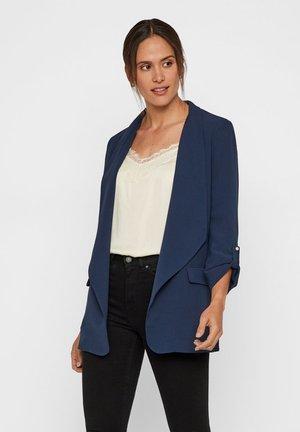 Short coat - navy blazer