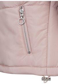 Urban Classics - LADIES OVERSIZED HIGH NECK JACKET - Light jacket - rose