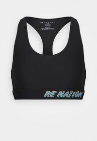 RESILIENCE SPORTS BRA - Urheiluliivit: keskitason tuki - black