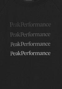 Peak Performance - GROUND CREW UNISEX  - Mikina - black - 2
