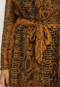 ICHI - Day dress - buckthorn brown - 6