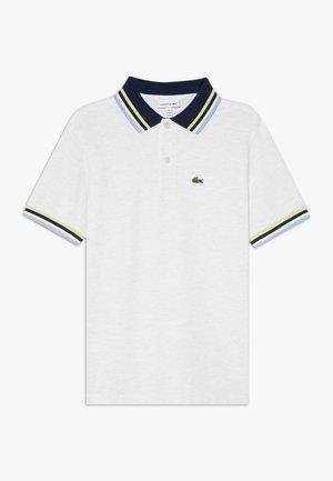 Polo shirt - alpes grey chine/multicolour