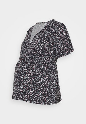 MLCARLA TESS TOP - Print T-shirt - black