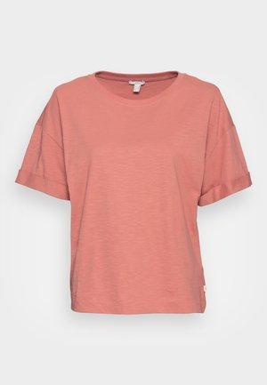 ICONIC - Basic T-shirt - coral