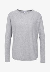 Davida Cashmere - CURVED - Jumper - light grey - 4
