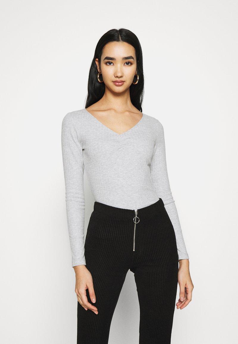 Even&Odd - Langærmede T-shirts - light grey