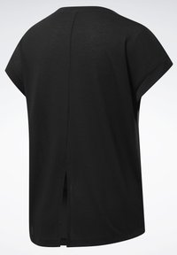 Reebok - WORKOUT READY SUPREMIUM DETAIL - Print T-shirt - black - 8