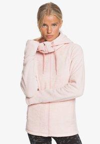 Roxy - ELECT FEELIN - Fleece jacket - silver pink - 0
