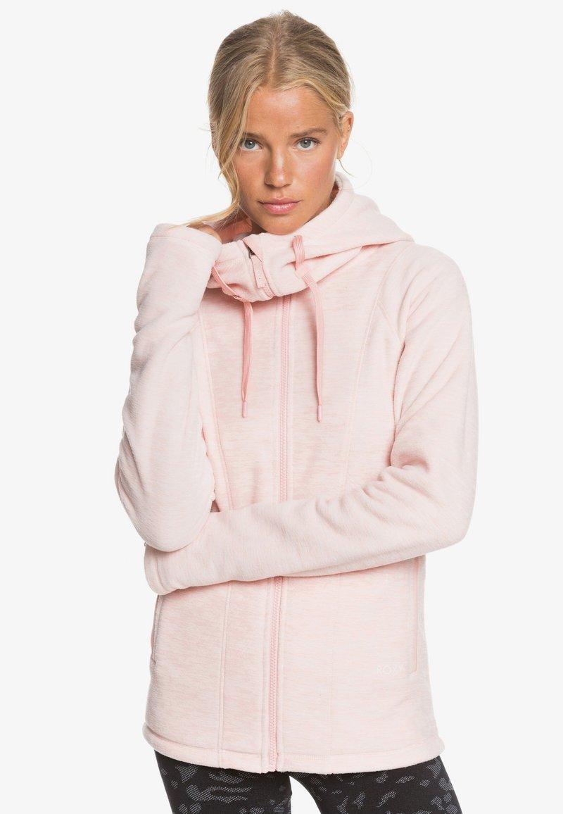 Roxy - ELECT FEELIN - Fleece jacket - silver pink
