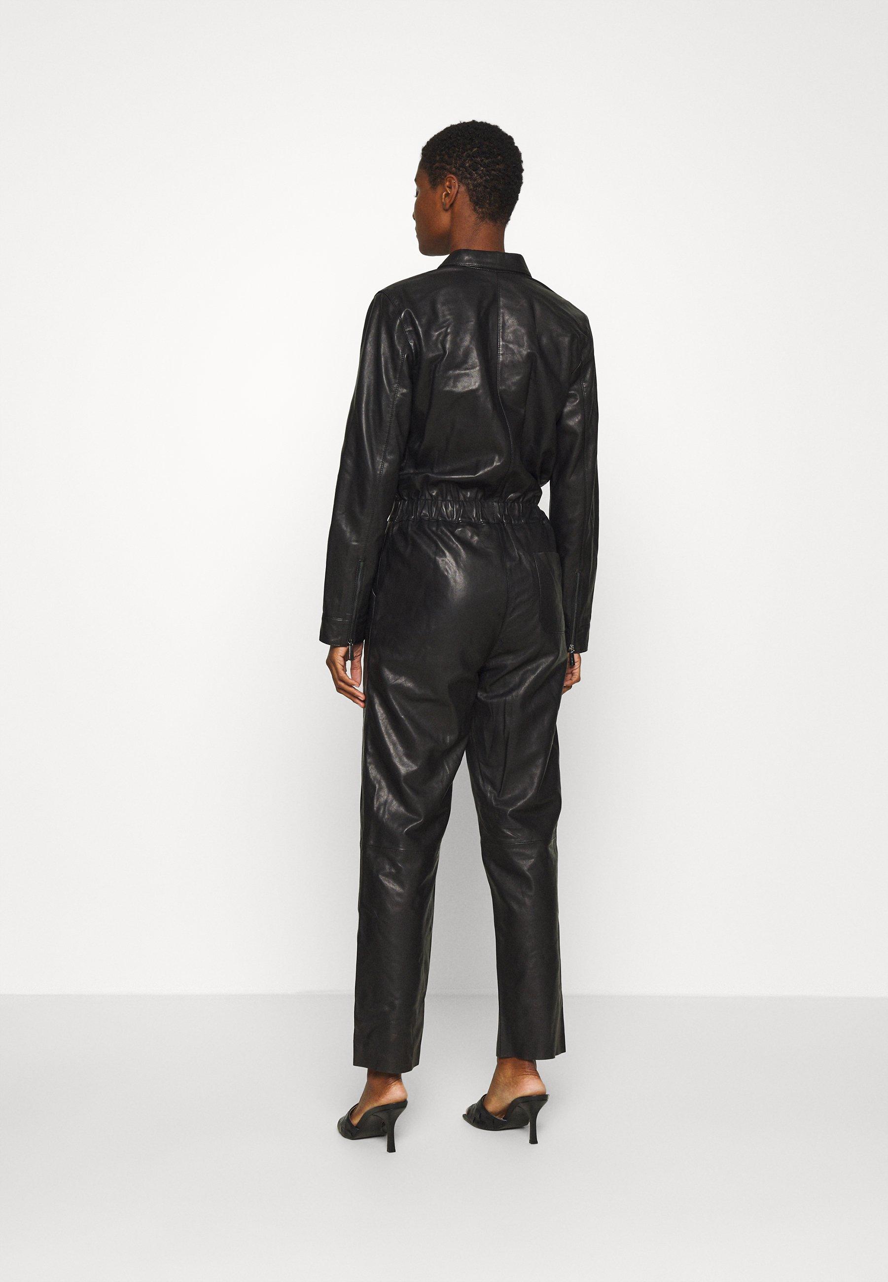 Oakwood VERONIKA - Combinaison - black - Pantalons & Leggings Femme 8v91u