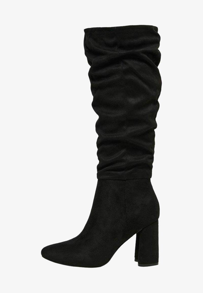 ONLY SHOES - Laarzen met hoge hak - black