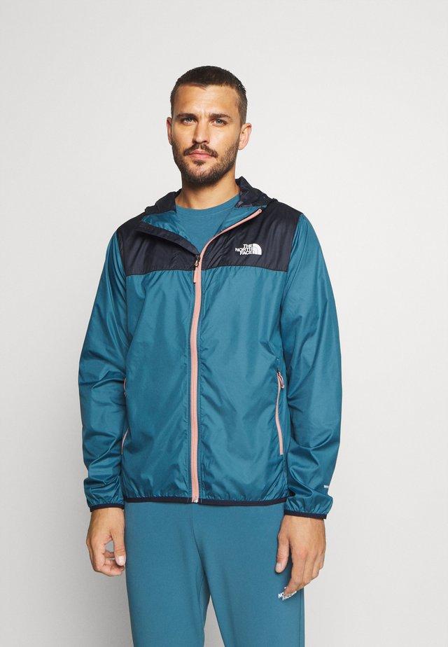 MENS CYCLONE 2.0 HOODIE - Waterproof jacket - dark blue