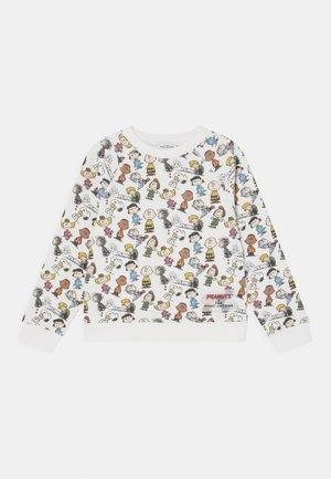 PEANUTS - Sweatshirt - white