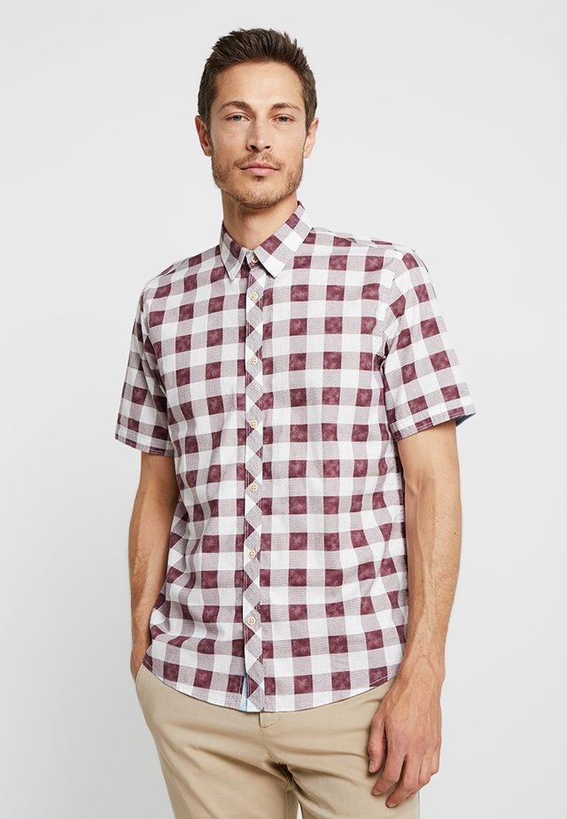 RAY  - Shirt - washed burgundy