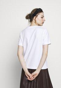 Samsøe Samsøe - CAMINO - Basic T-shirt - white - 2