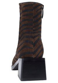 Ekonika - Ankle boots - zebra-oliv - 3