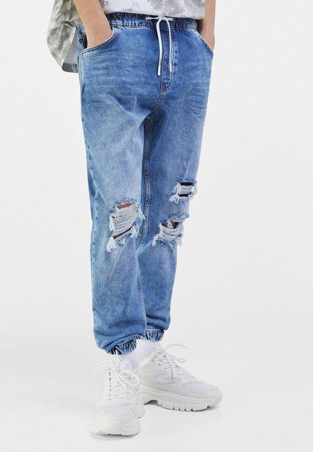 Jeans fuselé - blue denim
