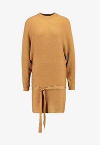 TWINTIP - Jumper dress - light brown - 3