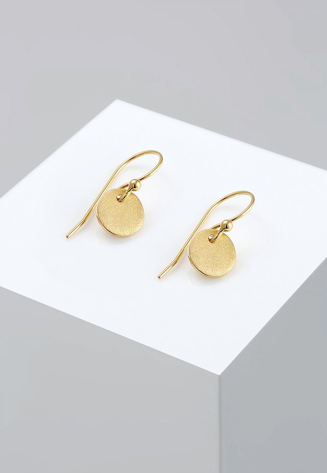 GEO RUND  - Earrings - gold-coloured