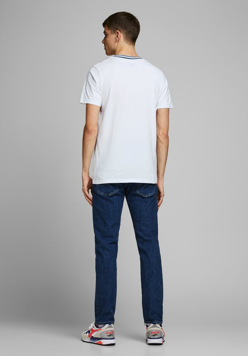 Jack & Jones T-SHIRT BRUSTLOGO - Print T-shirt - white 7ArJI
