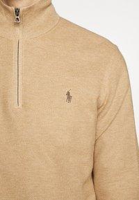 Polo Ralph Lauren - LONG SLEEVE  - Jersey de punto - camel melange - 6