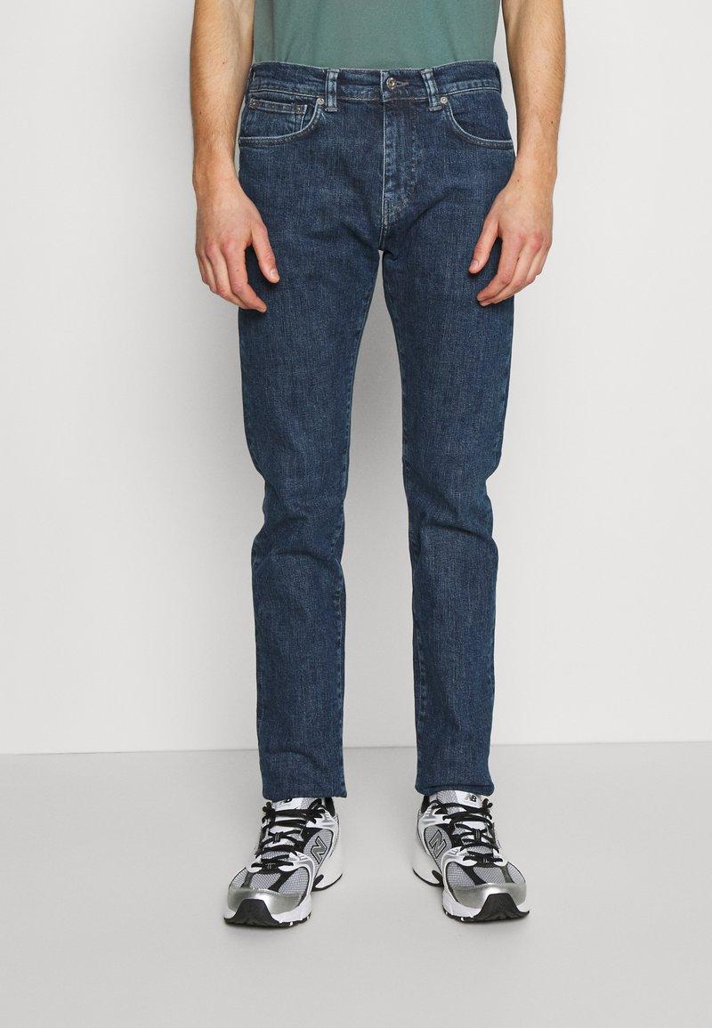 Edwin - TAPERED - Straight leg jeans - blue denim