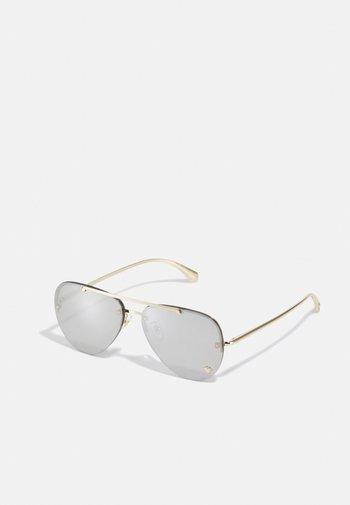 UNISEX - Sunglasses - pale gold-coloured