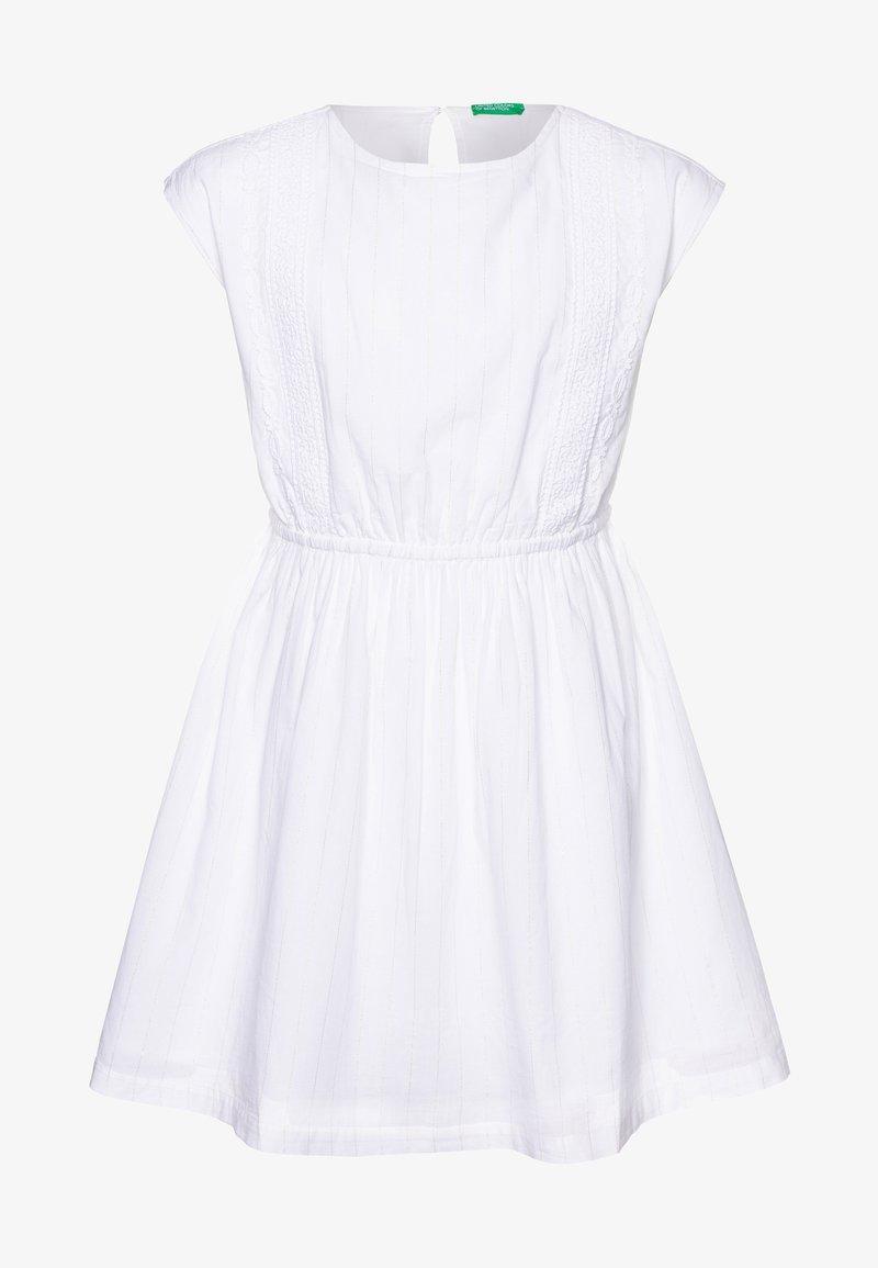 Serie storiche Validazione Pioniere  Benetton DRESS - Vestito estivo - white/bianco - Zalando.it