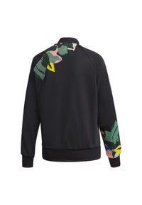 adidas Originals - RACK TOP - Sweatshirt - black - 9