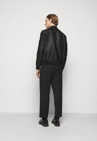 HUGO - LIVIUS - Leather jacket - black - 2