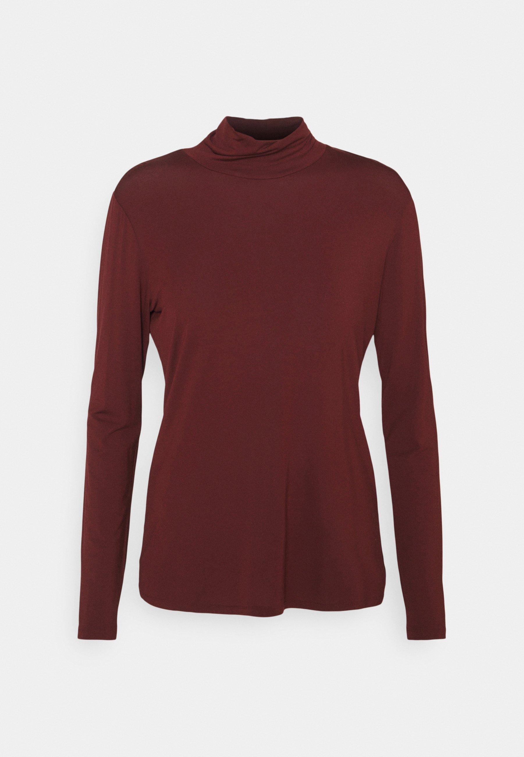 Women CLASSICS VEINE TURTLENECK SHIRT - Long sleeved top