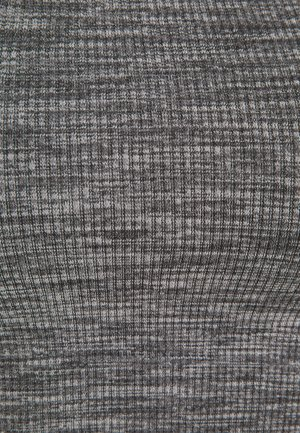 TOP-SEAMLESS - Top - mottled dark grey