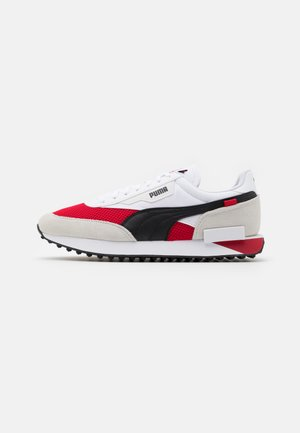 FUTURE RIDER ACM UNISEX - Trainers - white/tango red/black