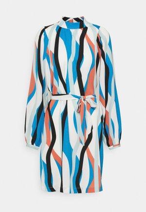 SHORT DRESS - Sukienka letnia - mykonos blue