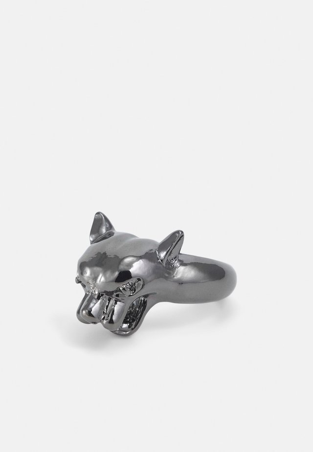 WILDCATS 3D PANTHER RING - Anello - gunmetal