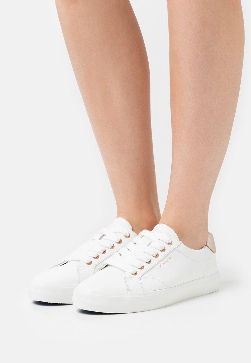 GANT - SEAVILLE  - Sneakers - bright white/rose gold