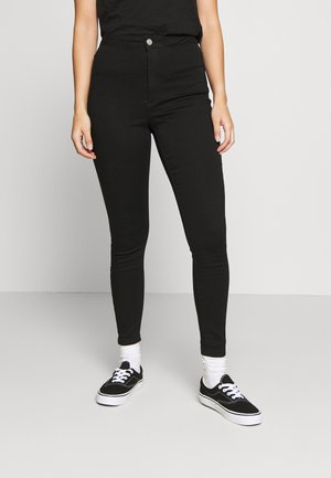 VICE HIGH WAISTED SKINNY - Jeans Skinny - black