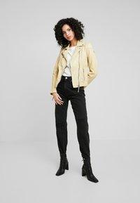 Gipsy - PGG LABAGV - Leather jacket - pale yellow - 1