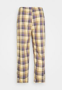 Vintage Supply - RELAXED TROUSER IN PASTEL CHECK UNISEX - Pantalon classique - multi - 1