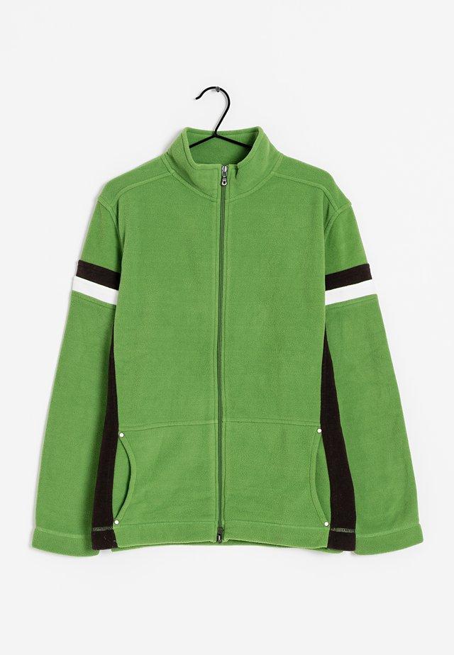 Fleecejas - green