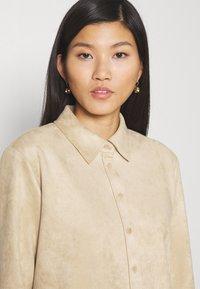 Opus - WESA - Shirt dress - macadamia - 5