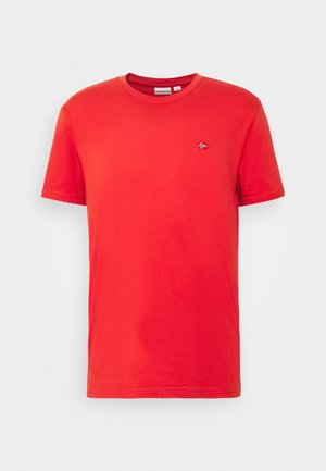 SALIS - Basic T-shirt - orange clay
